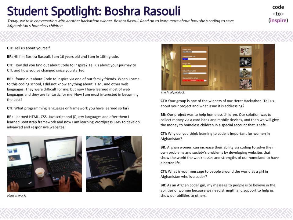 Boshra Rasouli Blog Pos